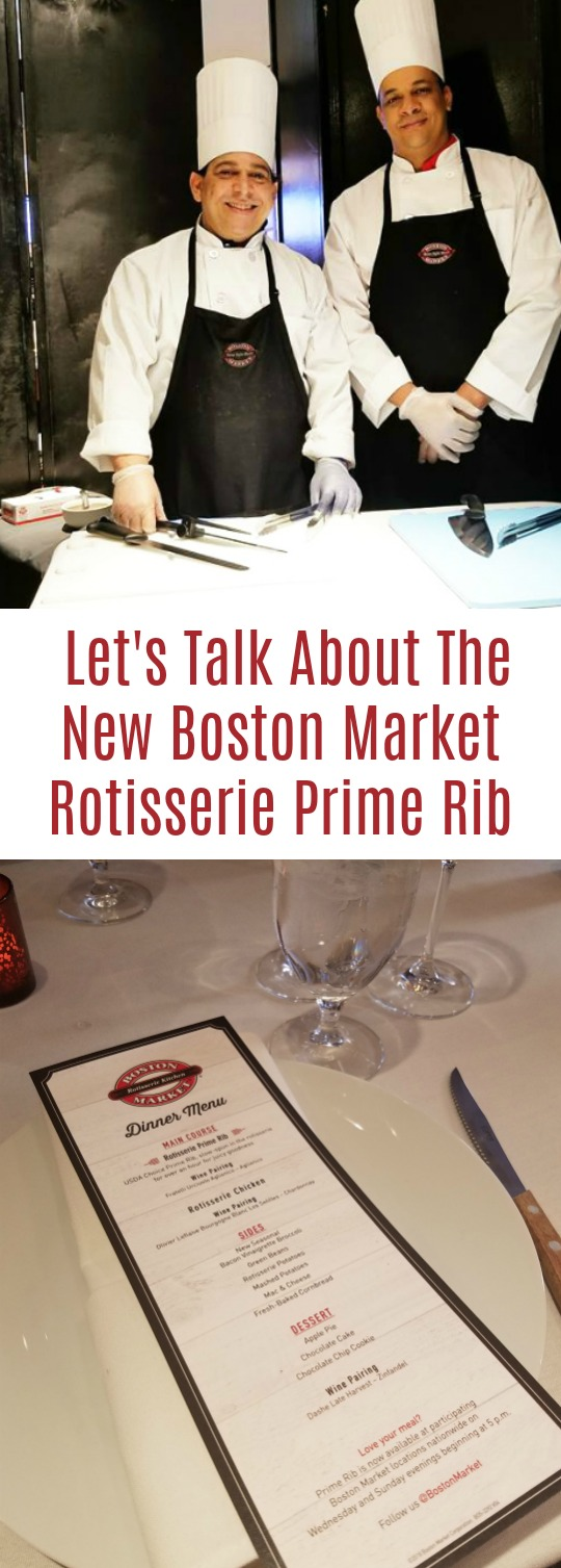 Dinner at Boston Market!! Let's Talk About That New Succulent Rotisserie Prime Rib perfect weekend or weeknight dinner for busy families #BostonMarketPrime #ad