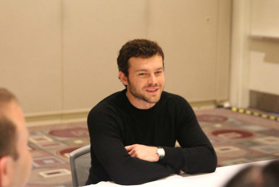 Alden Ehrenreich on Playing Han Solo in Solo: A Star Wars Story