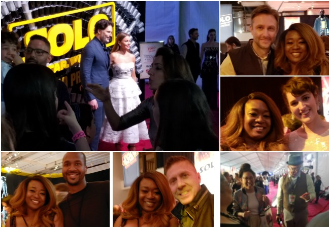 Celebrities at the Solo A Star Wars Story After-Party