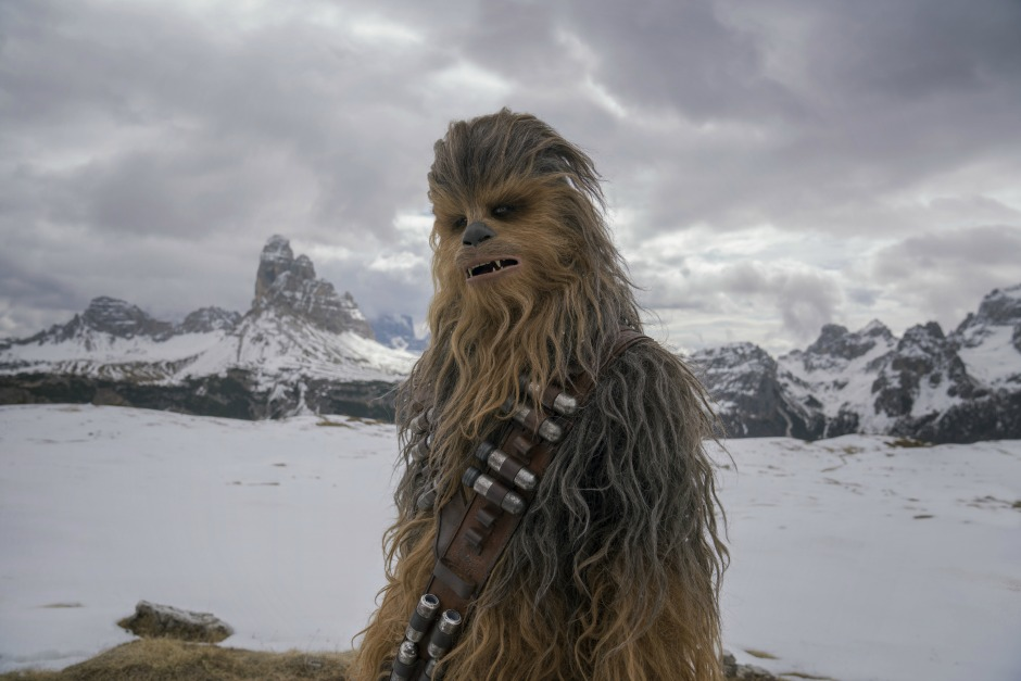 Joonas Suotamo is Chewbacca