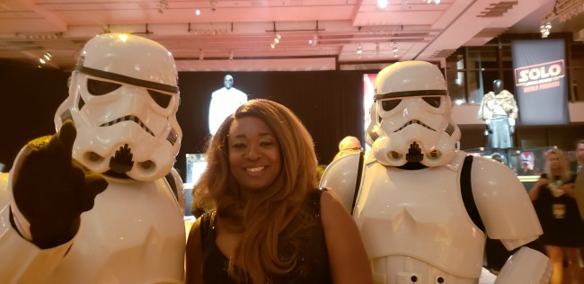Storm Troppers at Star Wars Solo After-party