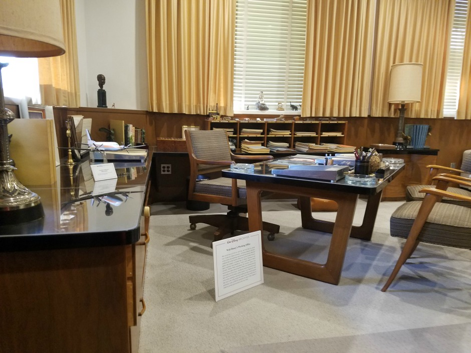 Walt Disney's Working Office