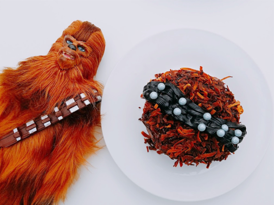 Star Wars Inspired Chewbacca Donuts – Solo_ A Star Wars Story