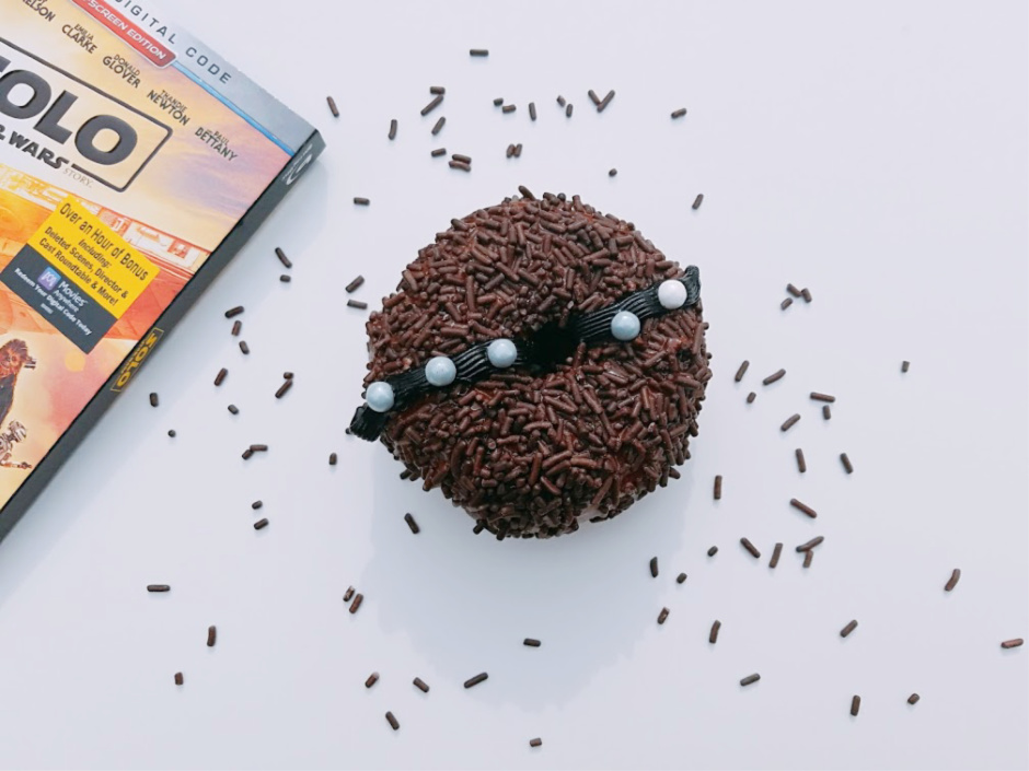 Star Wars Inspired Chewbacca Donuts