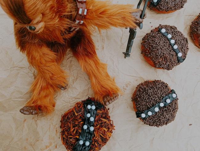 Star Wars Wookiee Donuts