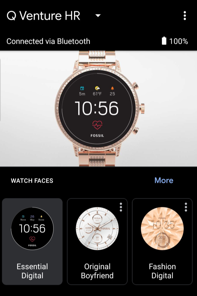 Wear OS by Google - Q venture HR