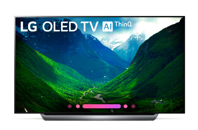 "LG 77"" 4K HDR Smart OLED TV w/ AI ThinQ"