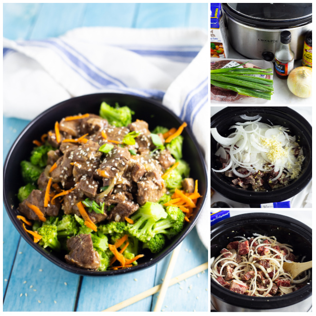 How to make Slow Cooker Mongolian Beef