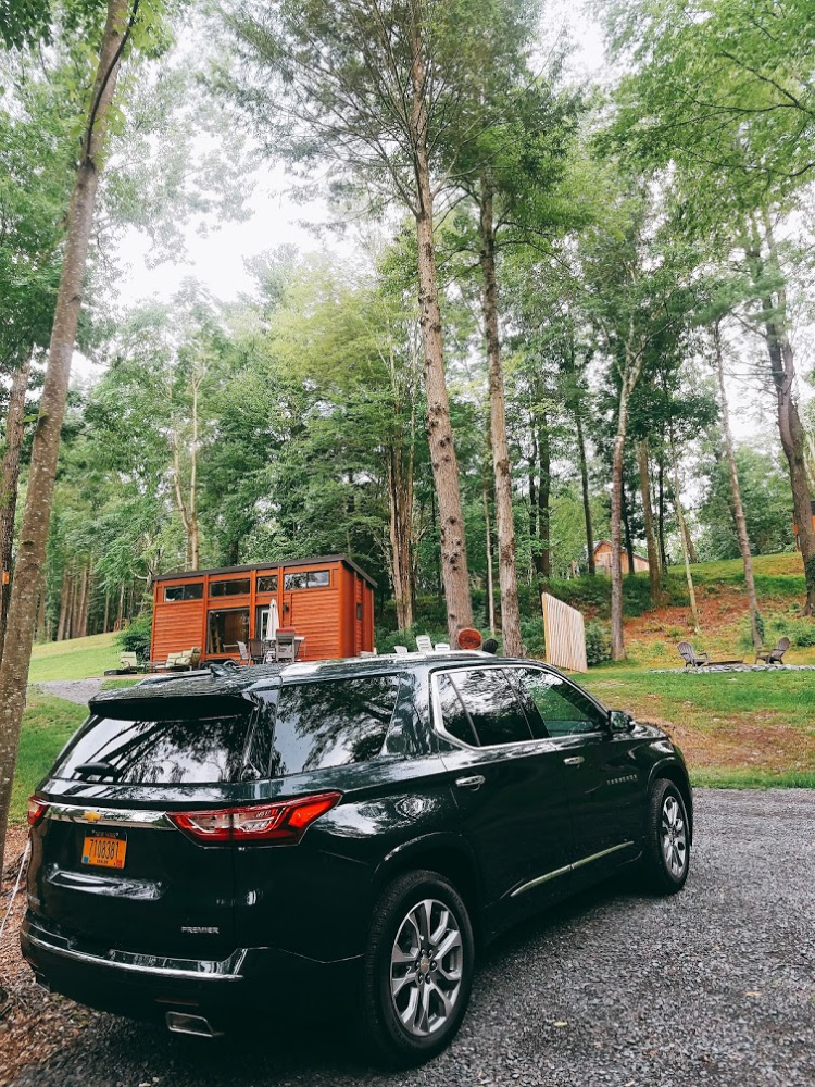 Our Summer Road Trip to The Catskills in a Chevy Traverse