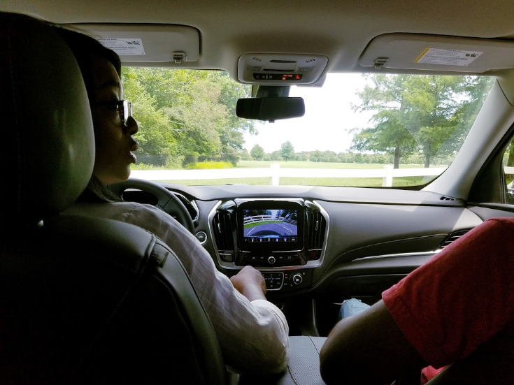 Summer Road Trip in The Chevy Transverse