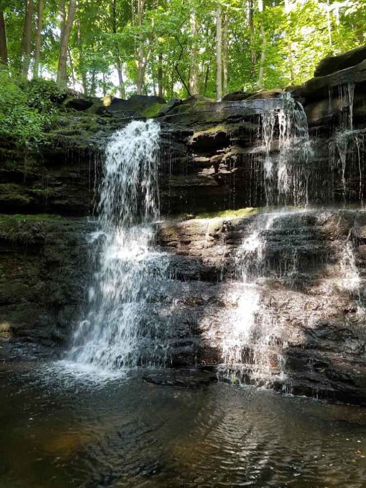 Think Big Tiny Big House Resort Waterfall at Catskill Mountain