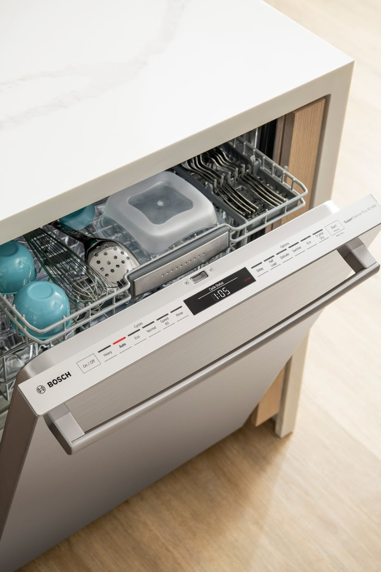 open - Bosch 500 Series Dishwasher