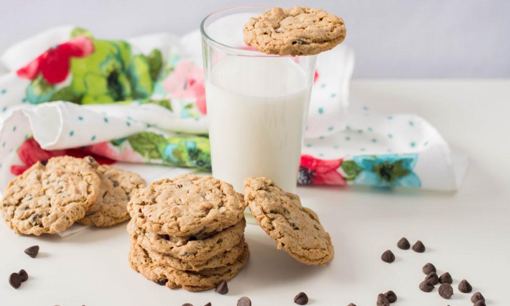 Flourless Peanut Butter Oatmeal Cookies Gluten-free