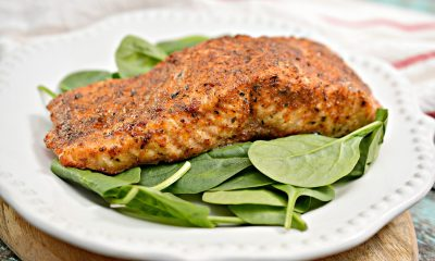 Air Fryer Blackened Salmon Recipe Keto