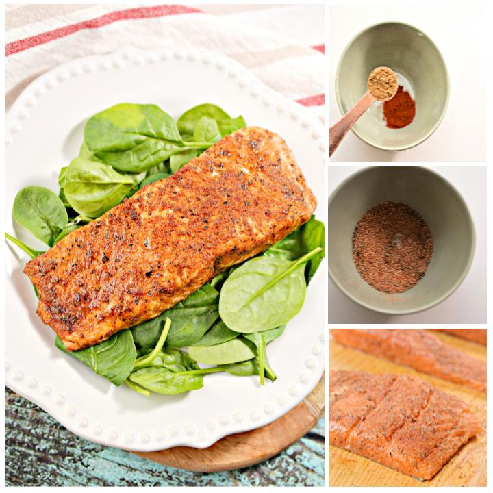 Blackened Salmon Recipe – Keto Air Fryer