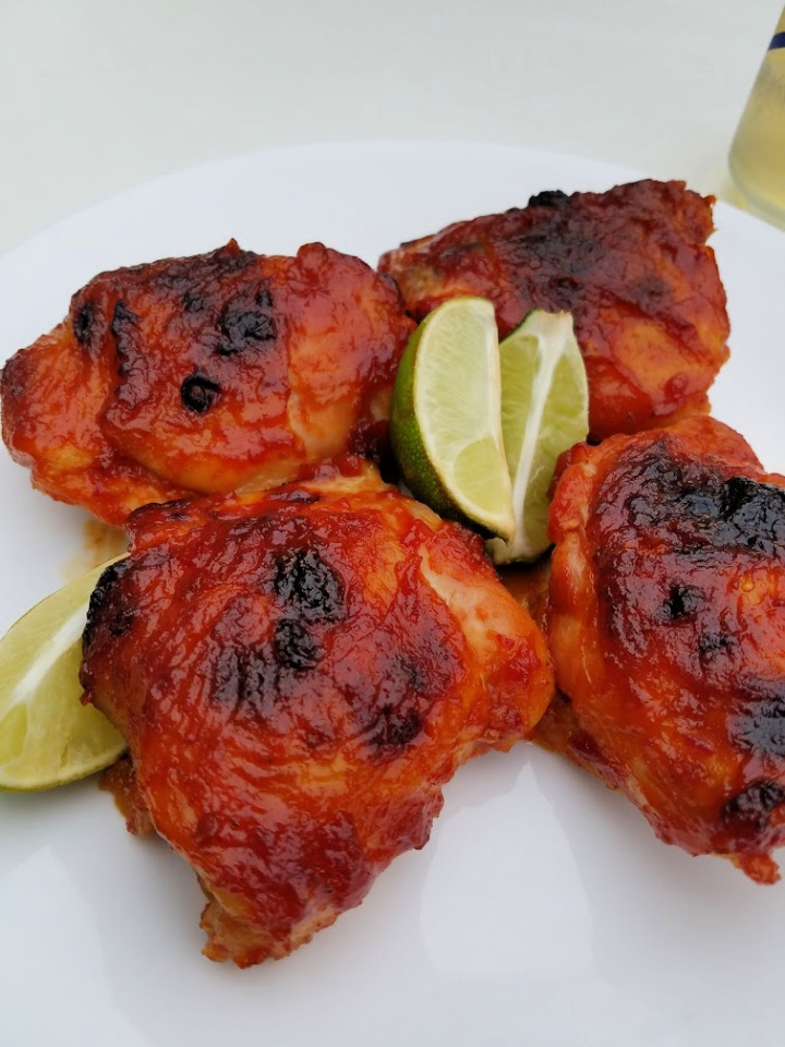 Easy Oven-Baked BBQ Chicken
