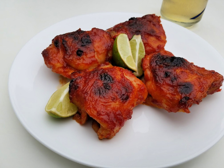 oven-baked barbecue chicken