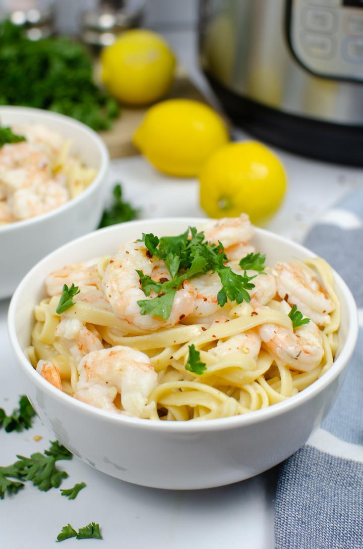 IP Shrimp Scampi Recipe