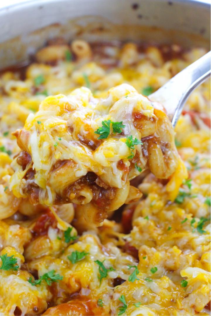 easy beef enchilada pasta recipe