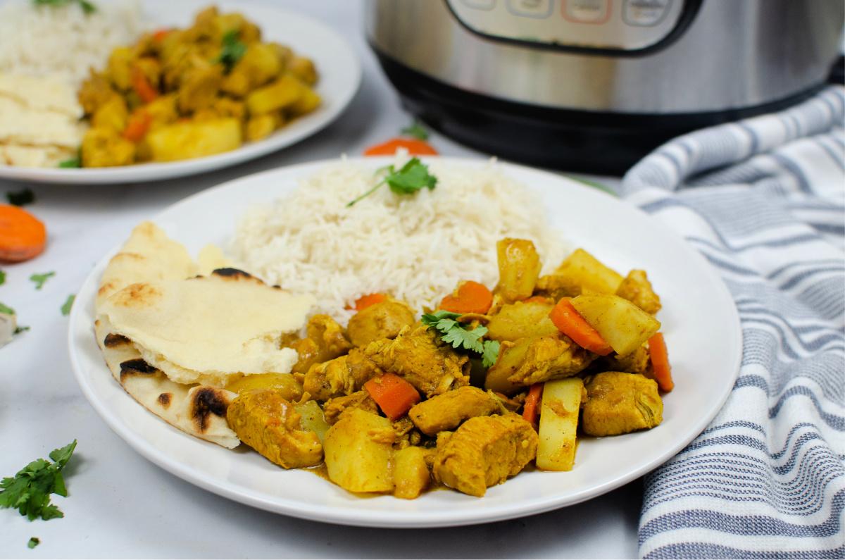 Instant Pot Chicken Potato Curry
