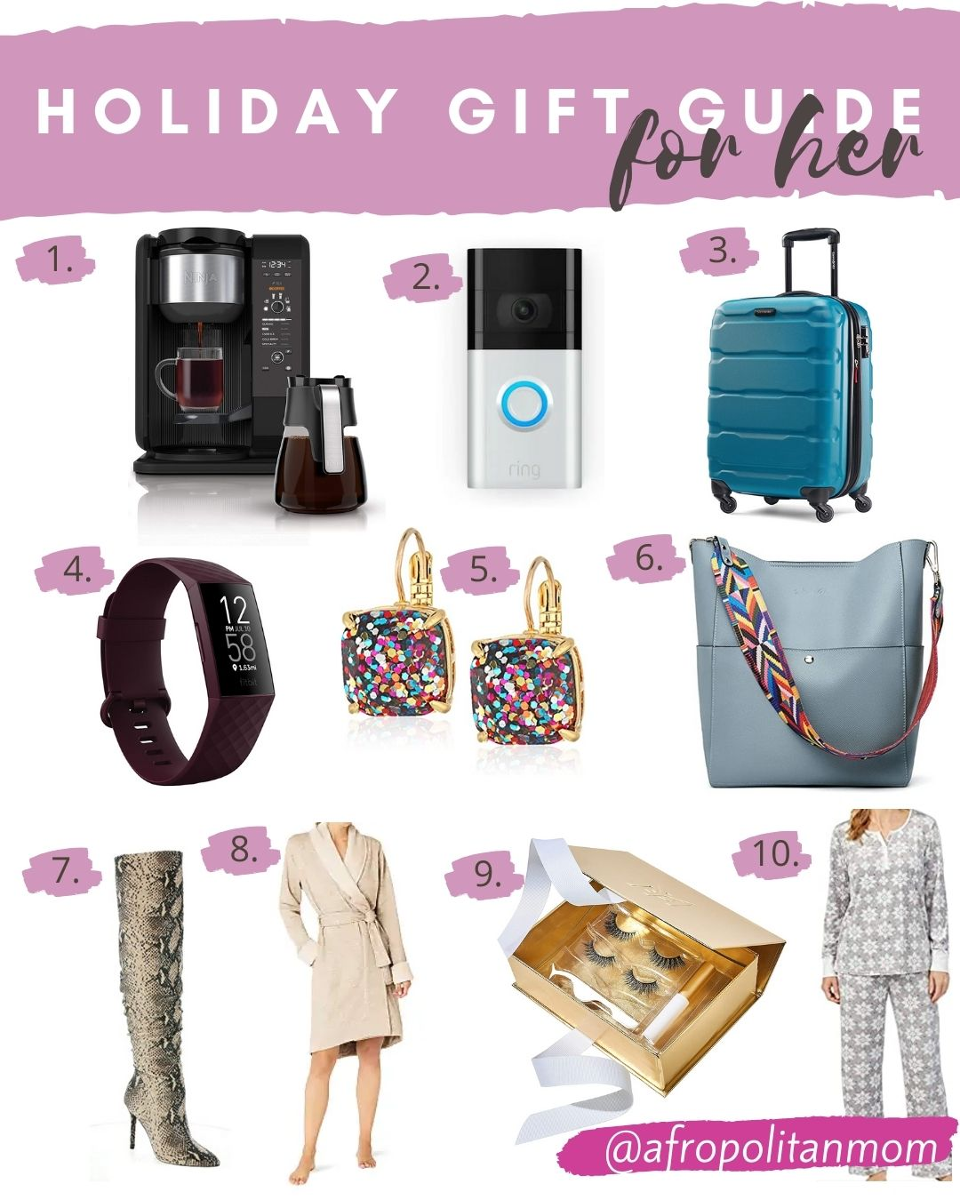 Holiday Gifts for Her Under $100 - Affordable Gift Ideas for 2020