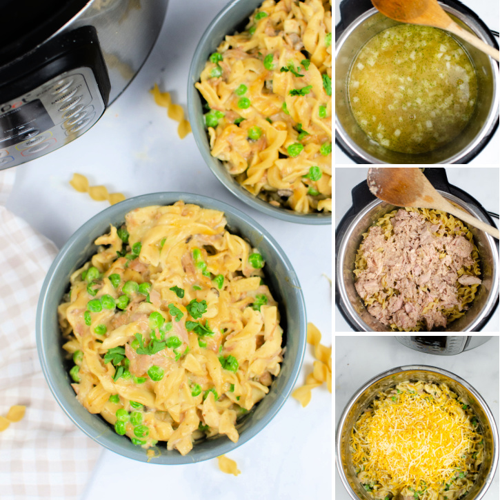 How to make Instant Pot Tuna Casserole - steps-by-steps