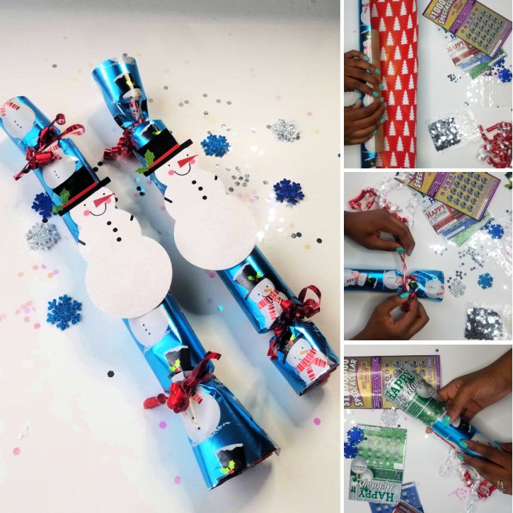 How To Make New Jersey Lottery Holiday Poppers  - steps-by-steps