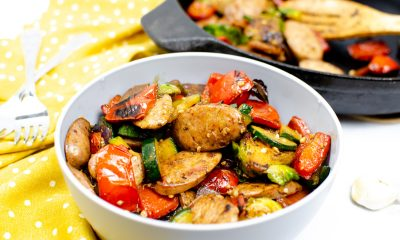 Chicken Sausage and Veggie Skillet