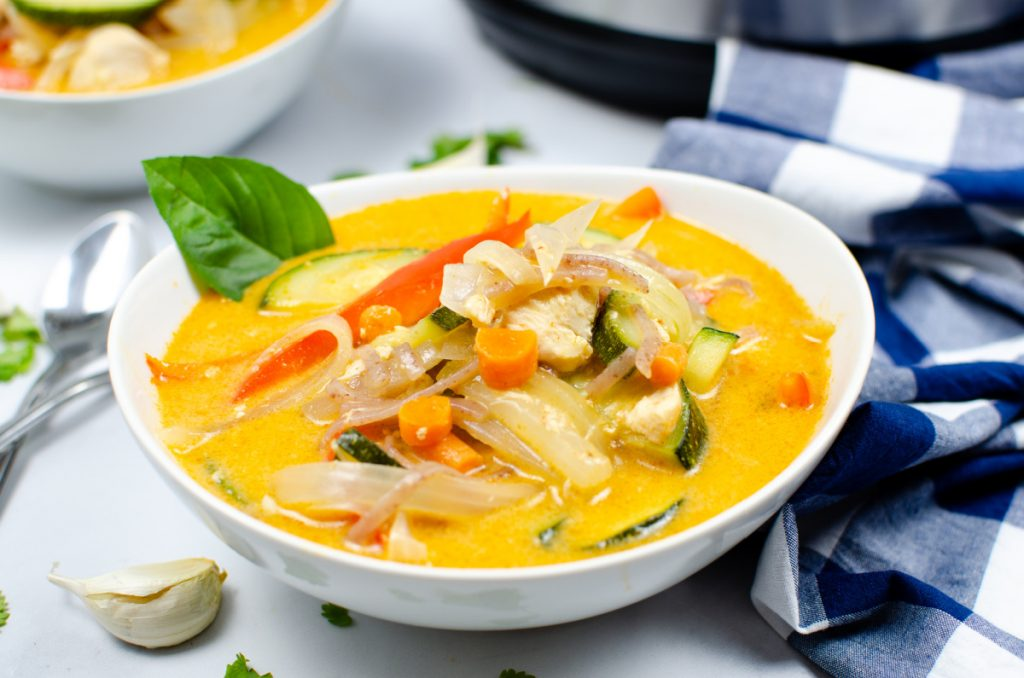 Instant Pot Thai Red Curry Chicken