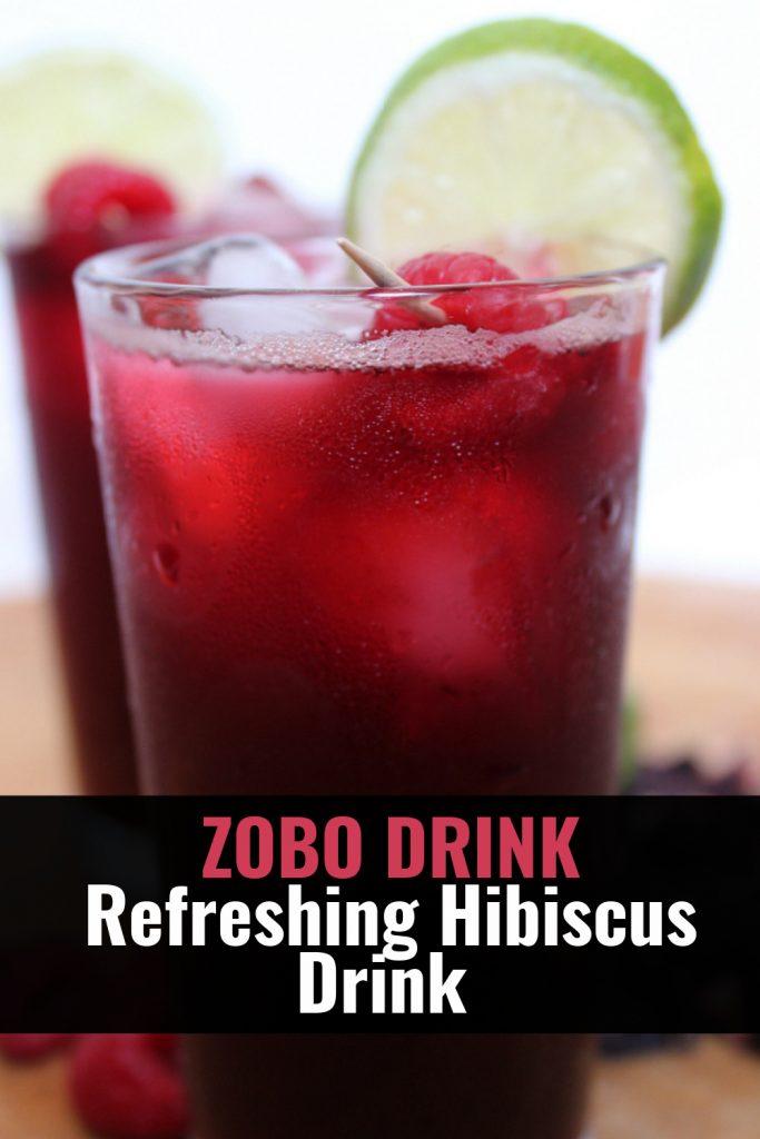 Zobo drink - Nigerian zobo drink